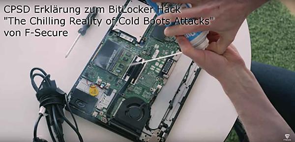 BitLocker unsicher ohne TPM PIN
